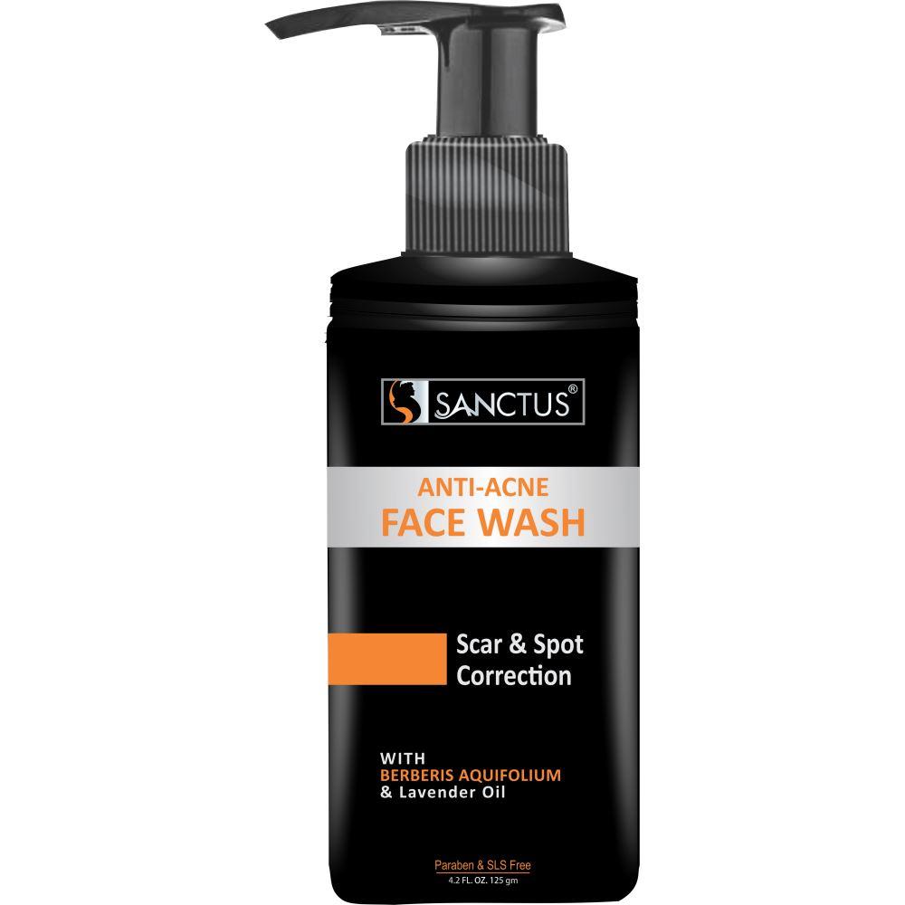 Sanctus Anti Acne Face Wash Advanced Scar & Spot Correction (125g)