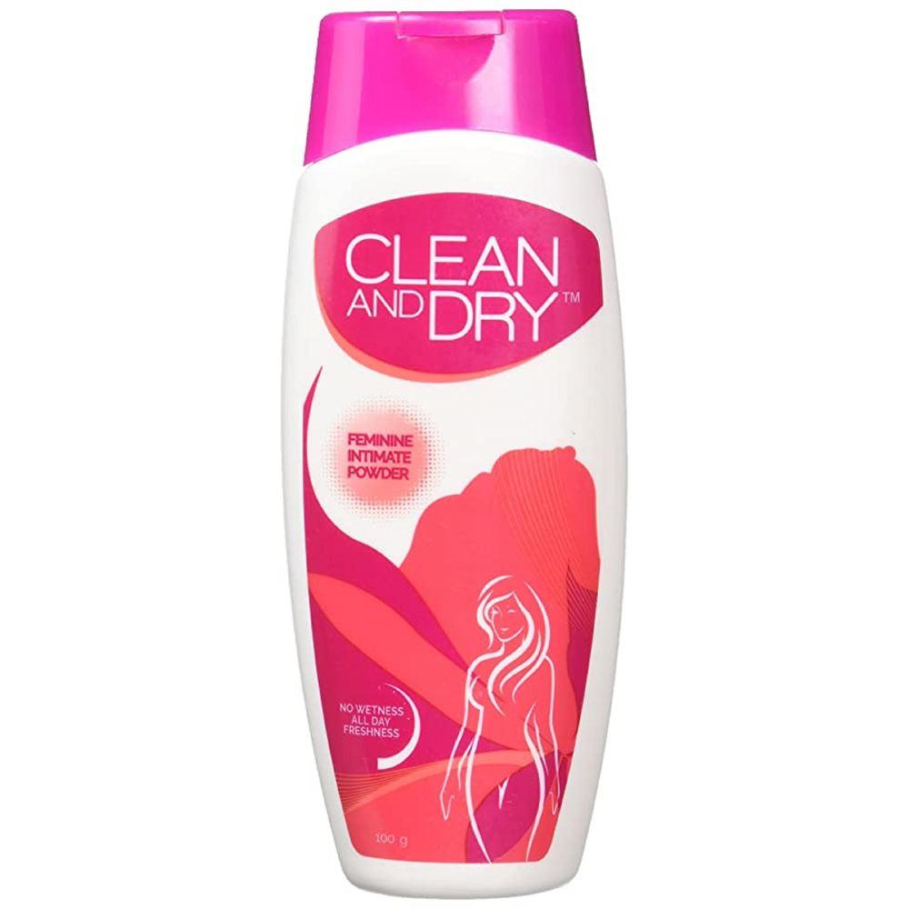 Midascare Pharma Clean & Dry Daily Intimate Powder (100g)