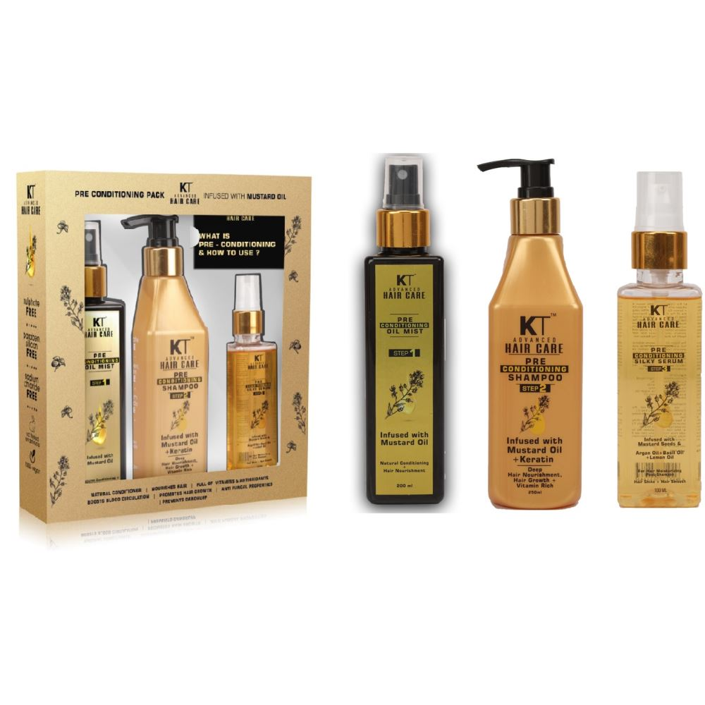 KT Advance Haircare Pre Conditioning Kit (1Pack)