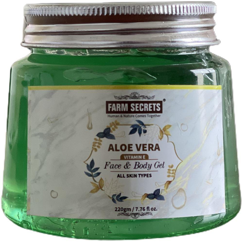 Farm Secrets Aloe Vera Face And Body Gel (220g)