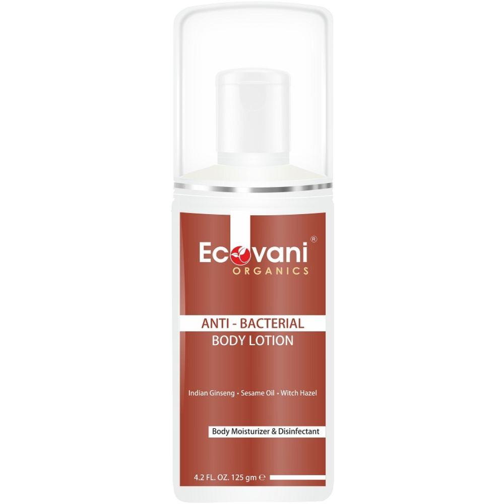 Ecovani Organics Anti Bacterial Body Lotion (125g)