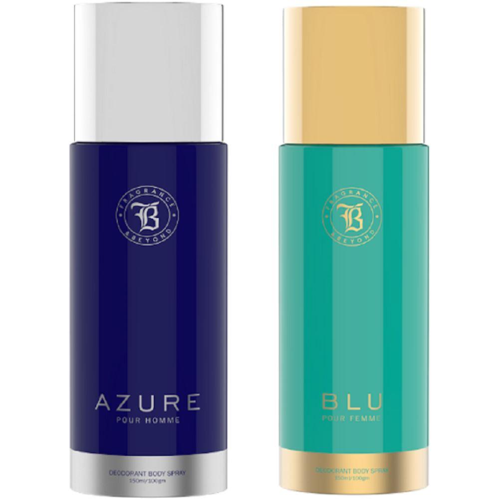 Fragrance & Beyond Aqua Deo Combo (150ml, Pack of 2)