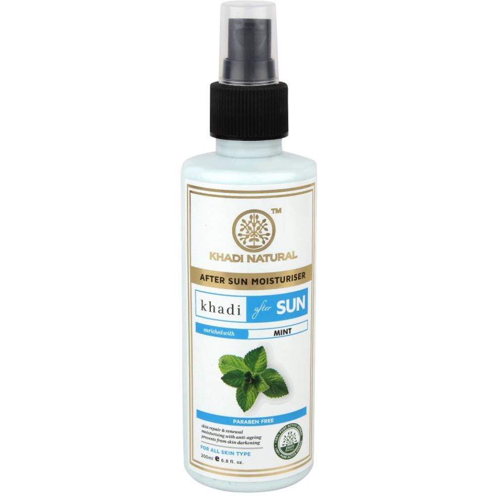 Khadi Natural After Sun With Mint (200ml)