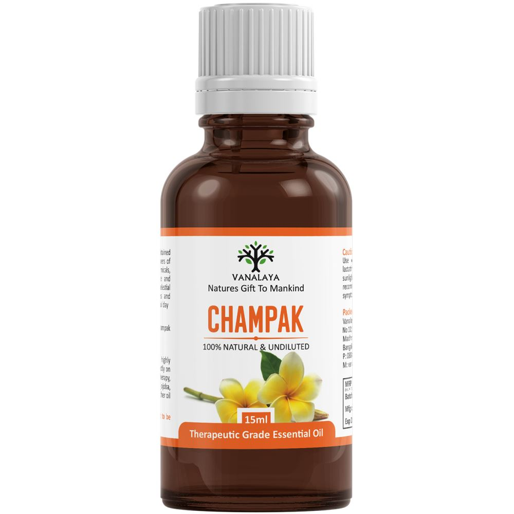 Vanalaya Champak Essential Oil (15ml)