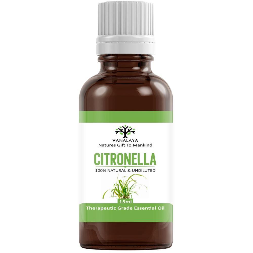 Vanalaya Citronella Essential Oil (15ml)
