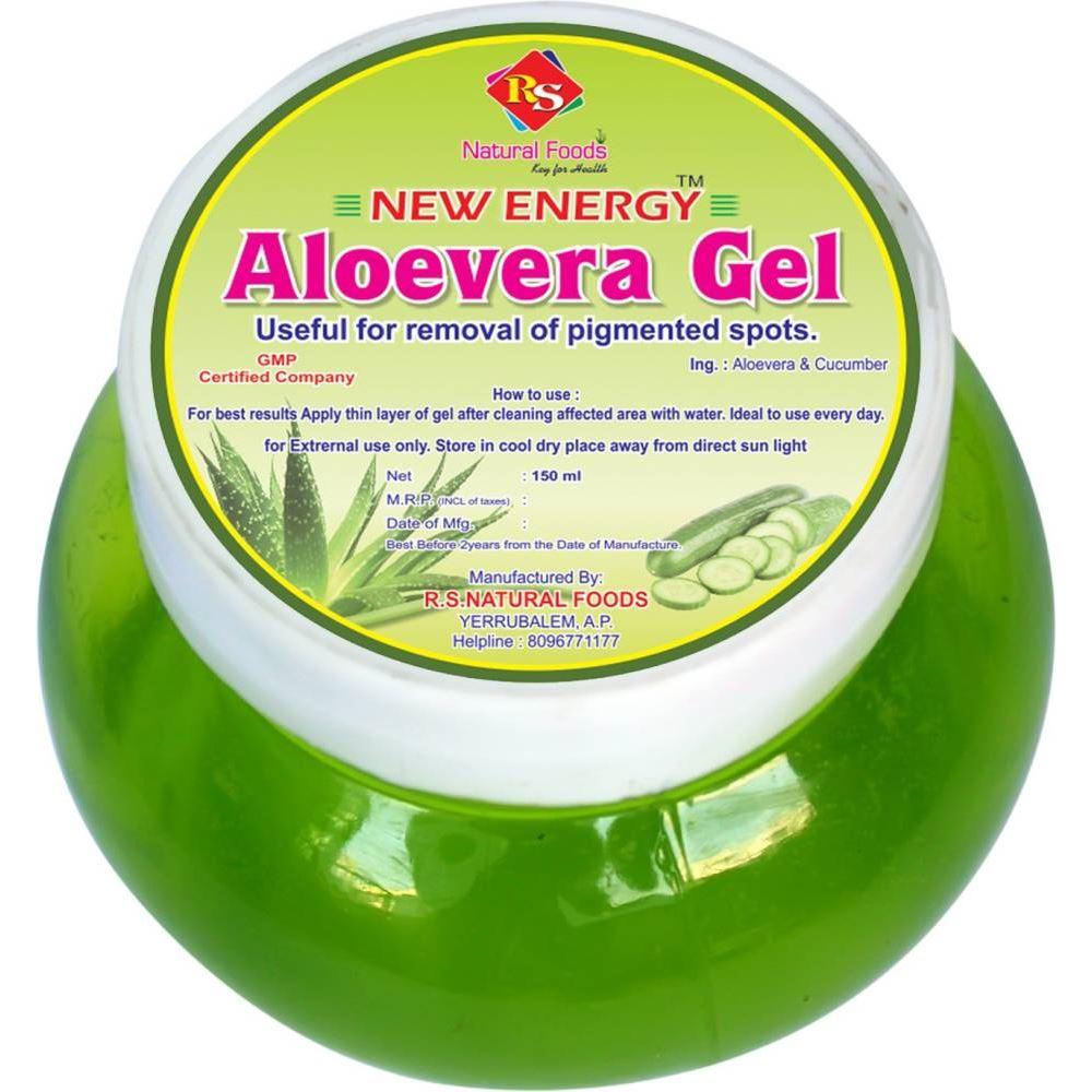 RS Natural Foods Cucumber Aloevera Gel (150ml)
