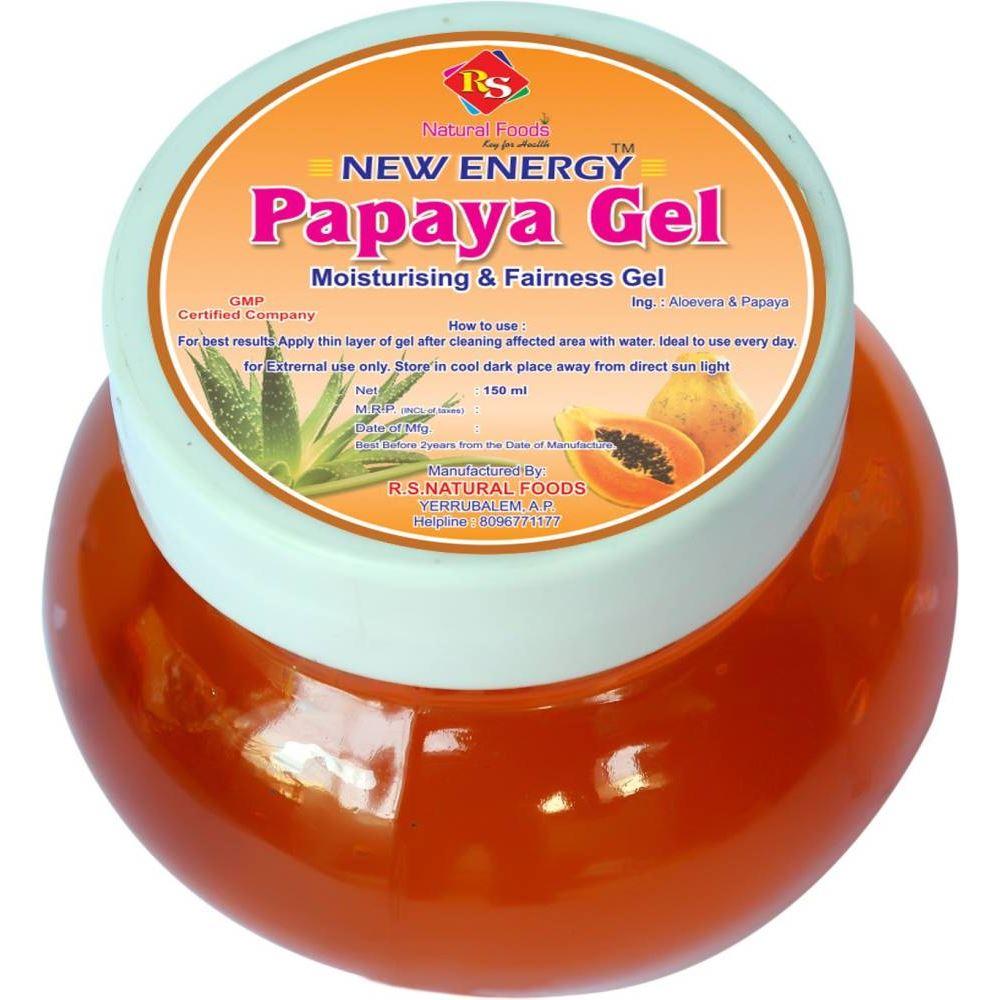RS Natural Foods Papaya Gel (150ml)
