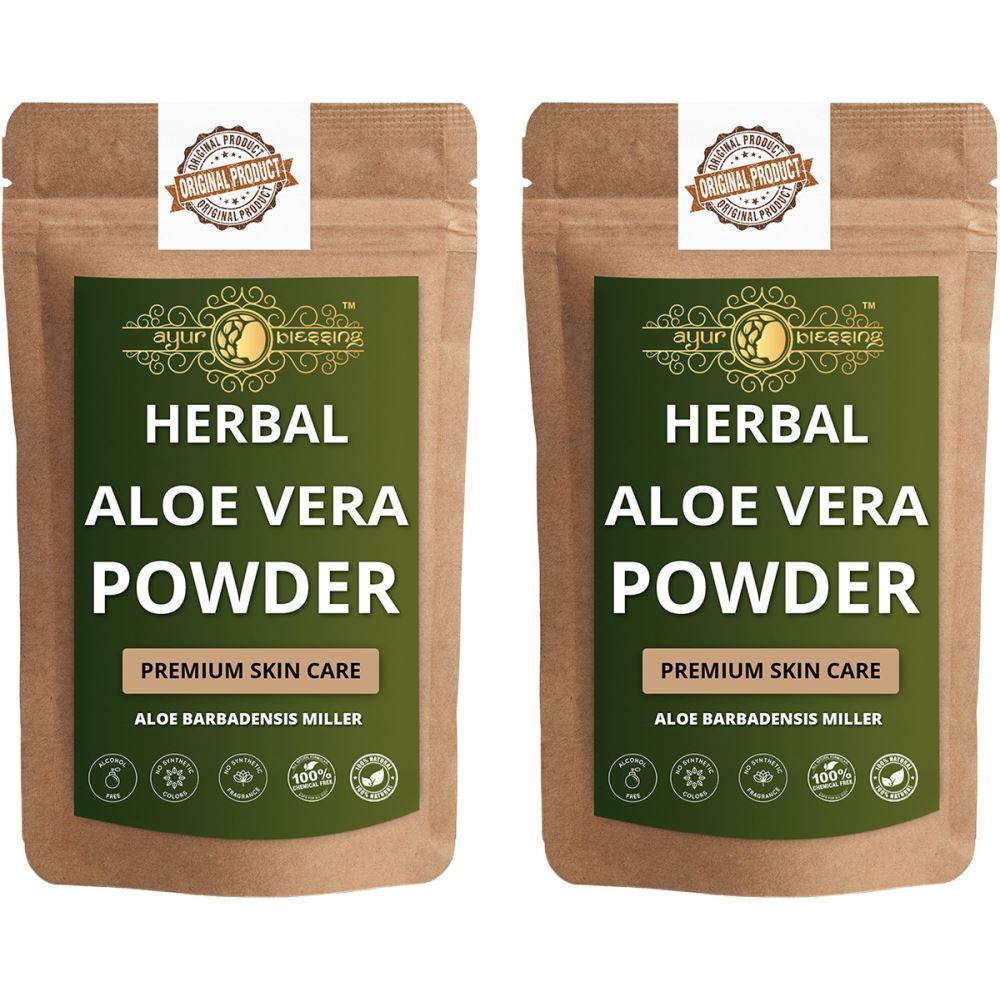 Ayur Blessing Aloe Vera Leaf Powder (100g, Pack of 2)