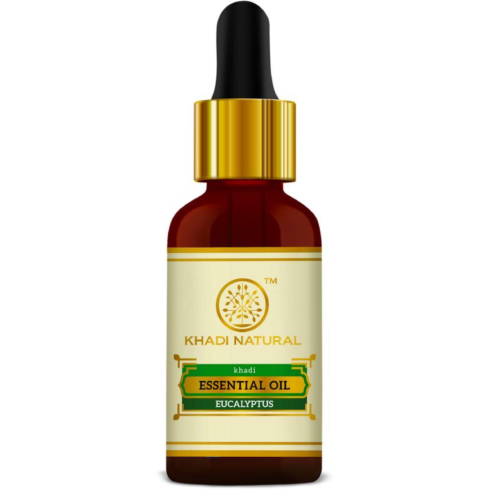 Khadi Natural Pure & Natural Eucalyptus Essential Oil (15ml)