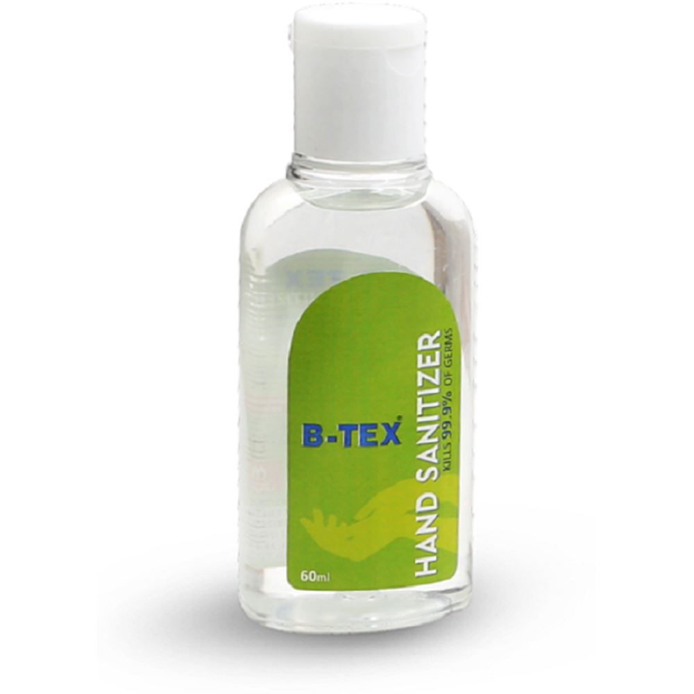 B Tex Hand Sanitizer (60ml, Pack of 6)