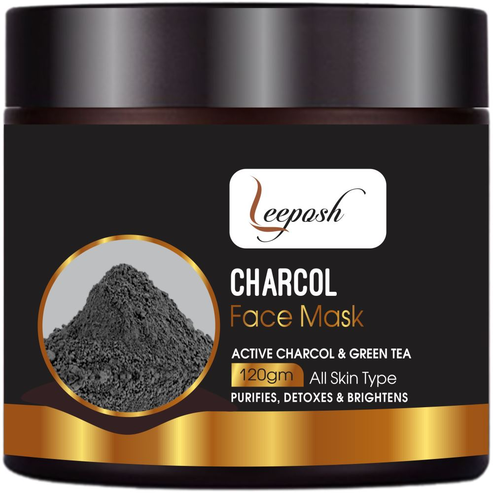 Leeposh Activated Charcoal Face Mask (120g)