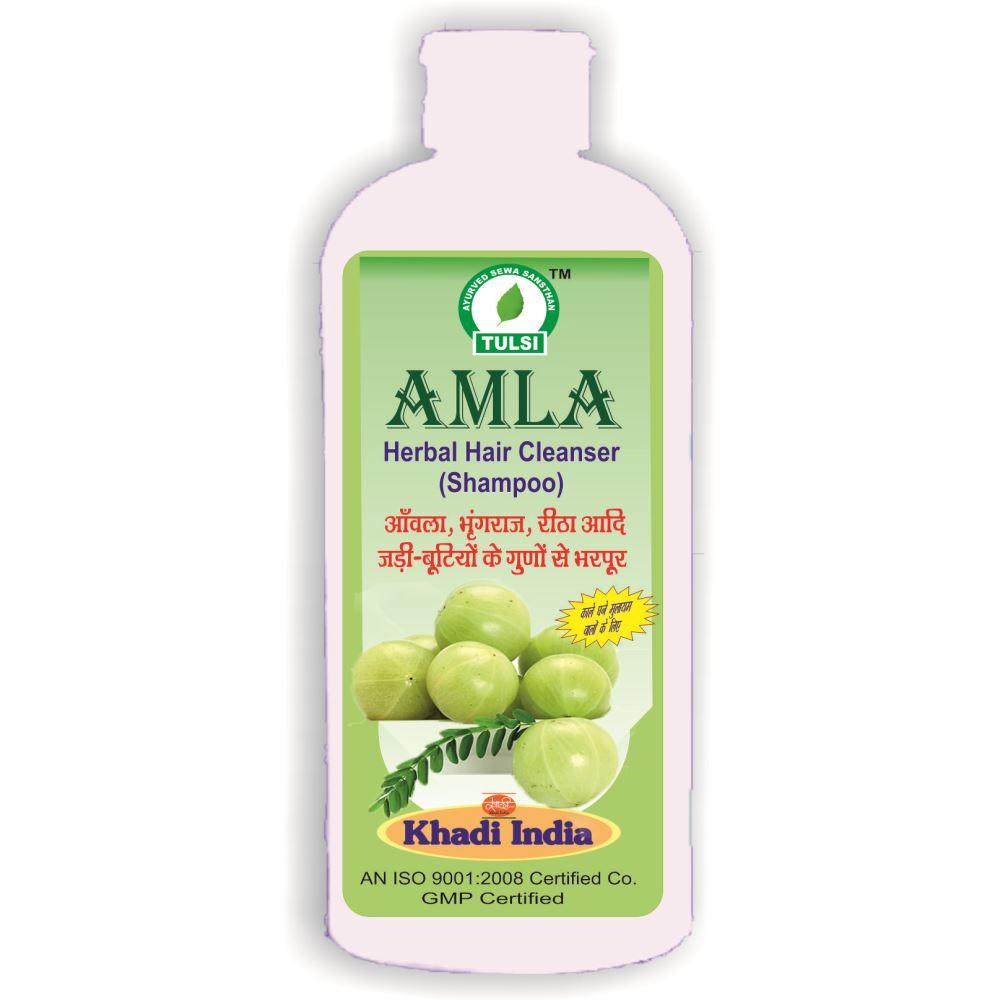 Tulsi Amla Herbal Hair Cleanser Shampoo (500ml)