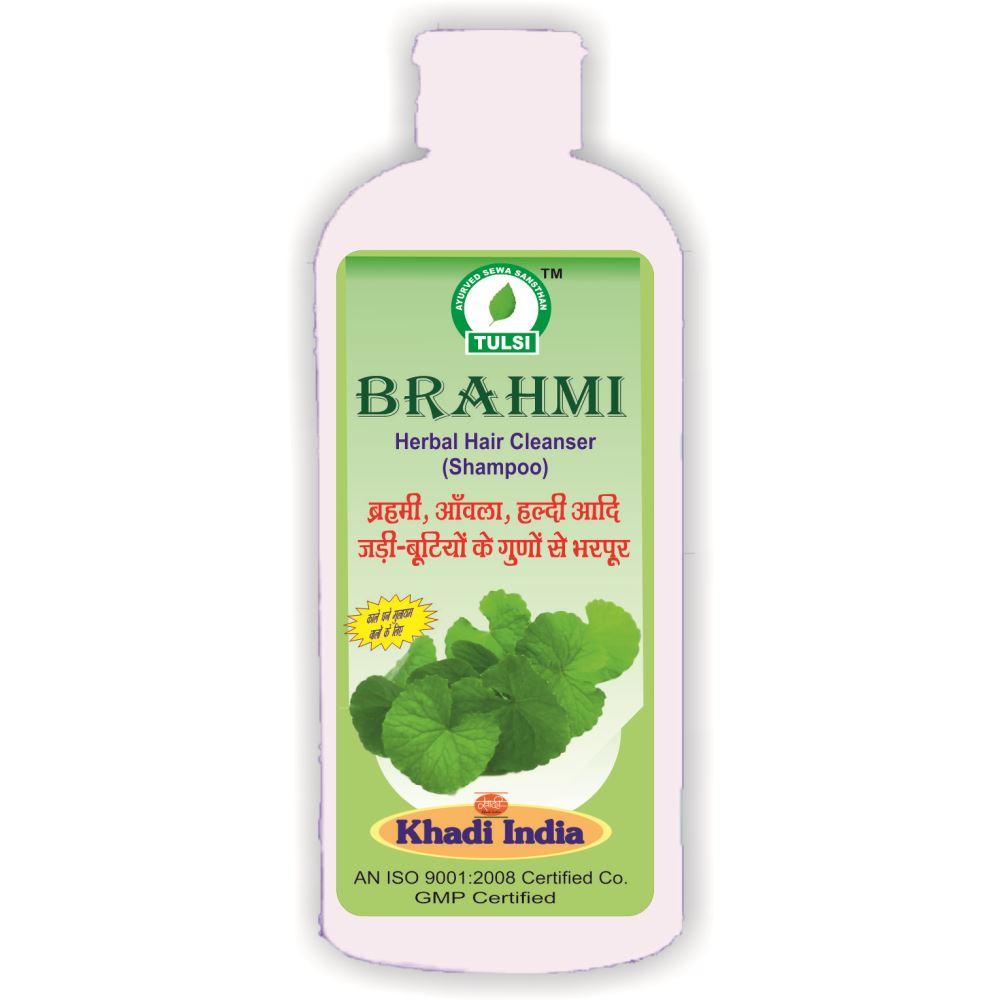 Tulsi Brahmi Herbal Hair Cleanser Shampoo (500ml)