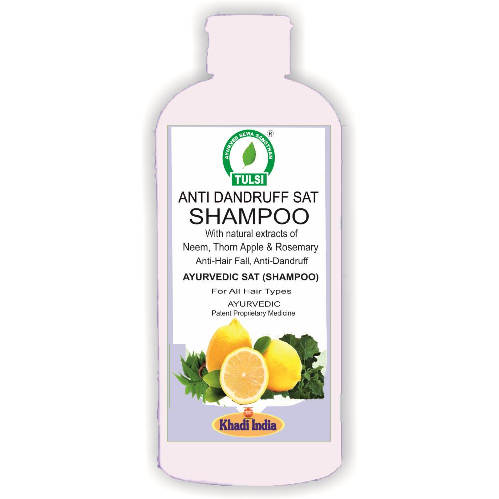 Tulsi Anti Dandruff Sat Shampoo (500ml)