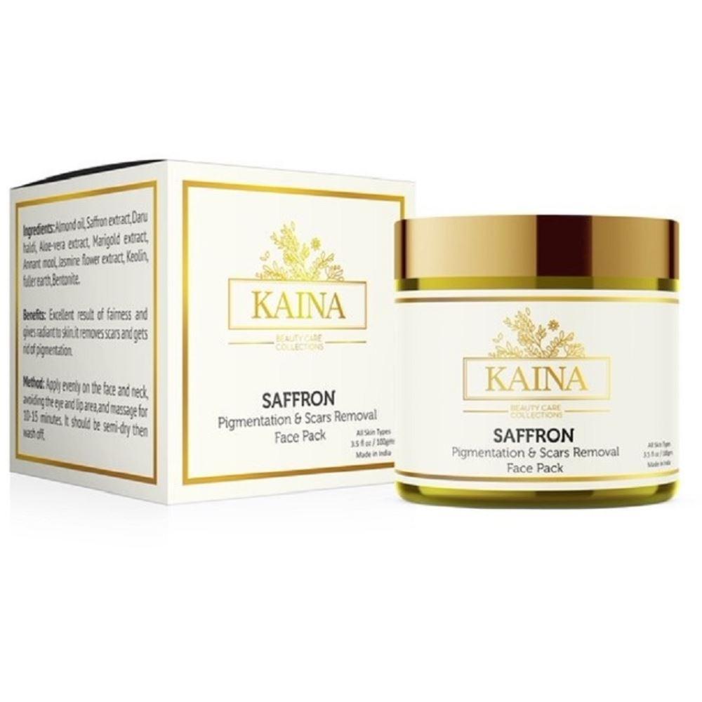 Kaina Skincare Saffron- Pigmentation & Scars Removal Face Pack (100g)