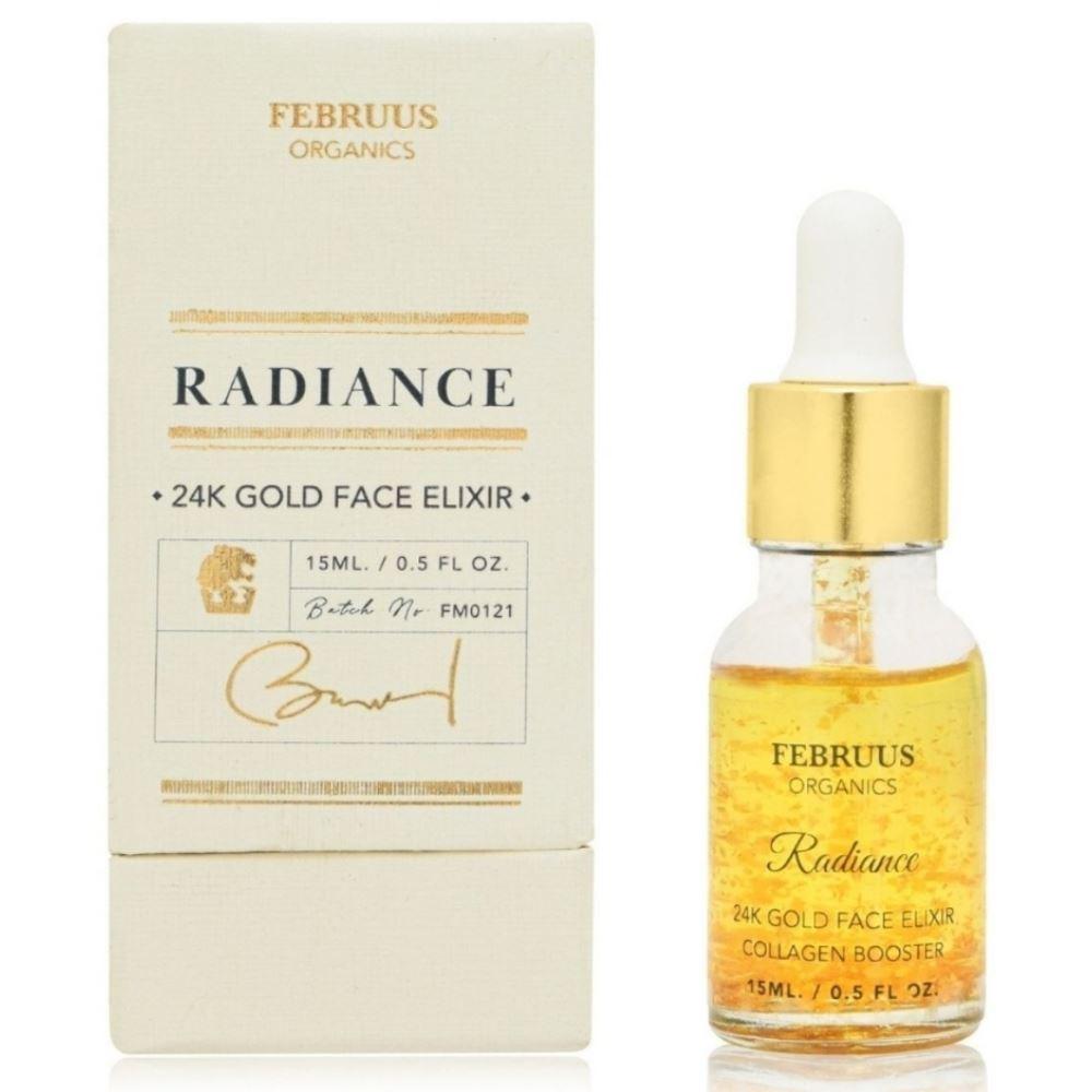 Februus Organics 24K Gold Face Elixir (15ml)