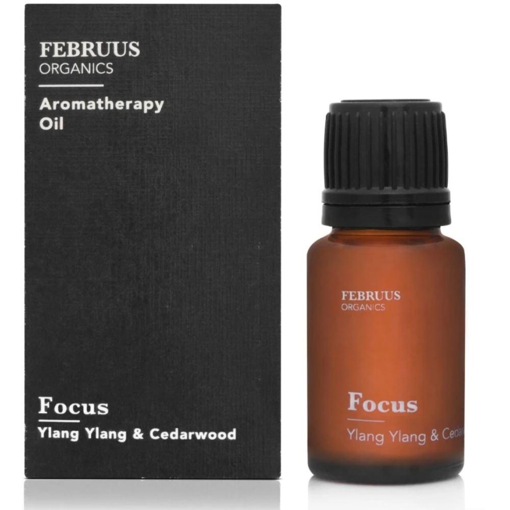 Februus Organics Aromatherapy Oil Focus (10ml)