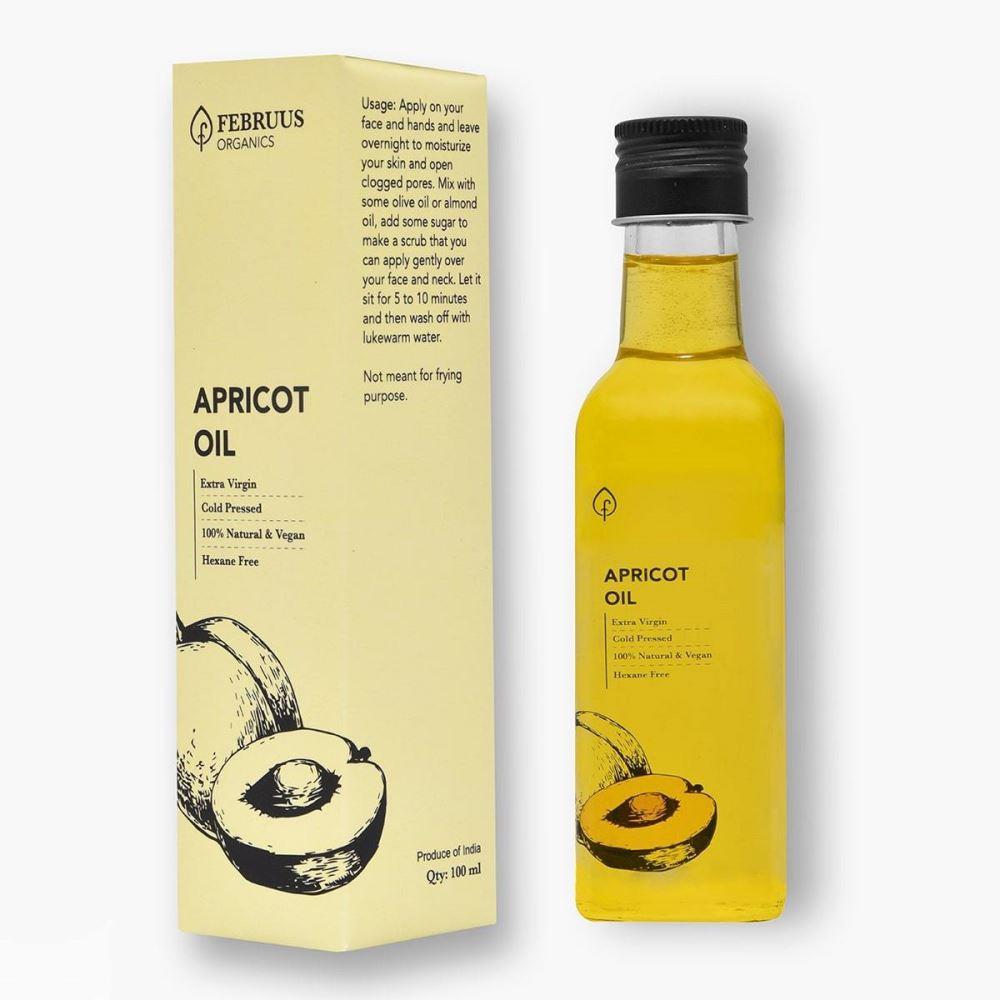 Februus Organics Apricot Oil (100ml)