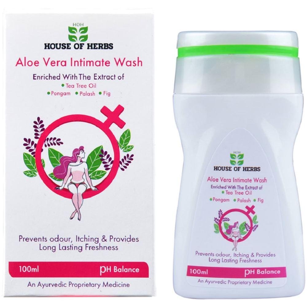 HOH Aloe Vera Intimate Wash (100ml)