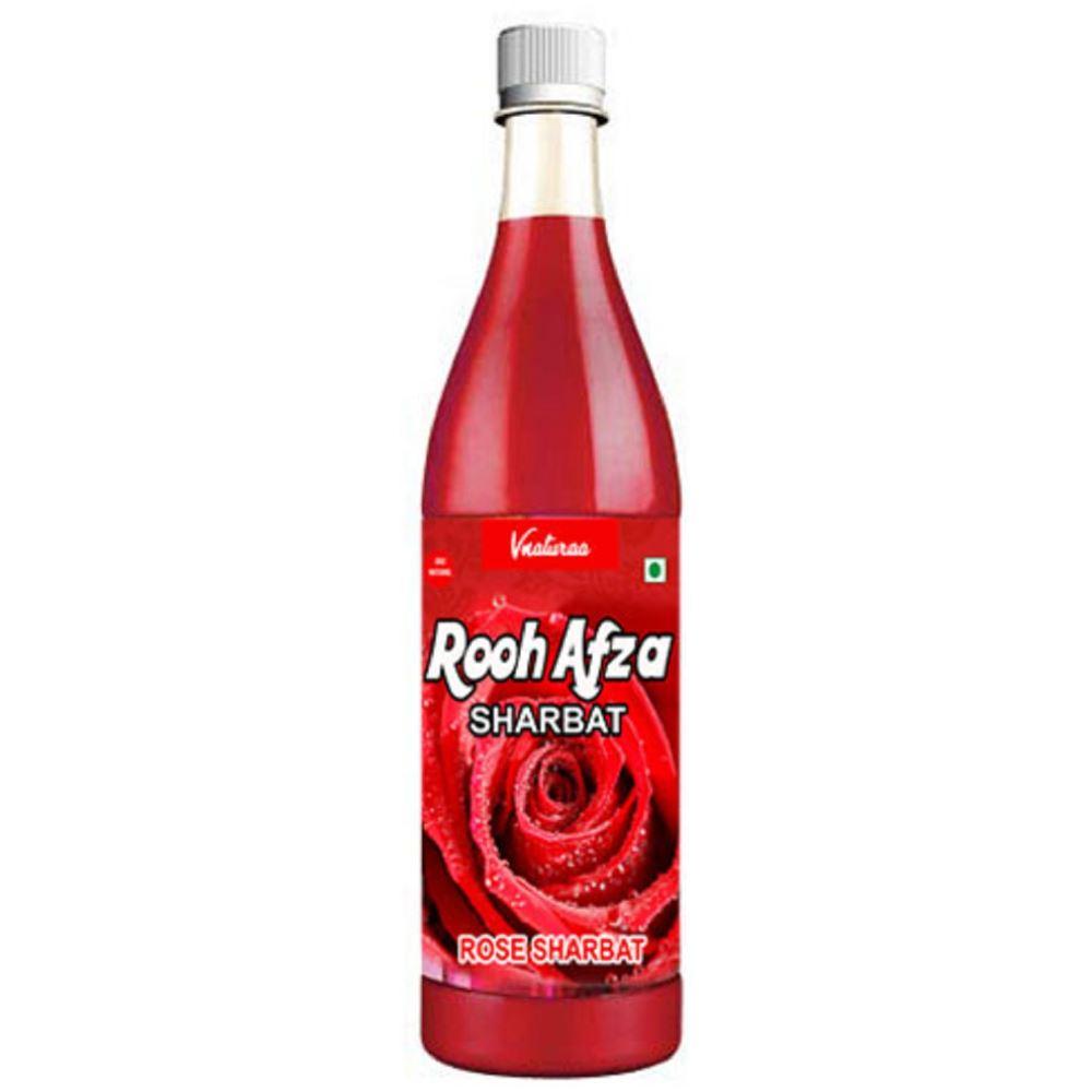 Vnaturaa Rooh Afza Rose Sharbat (750ml)