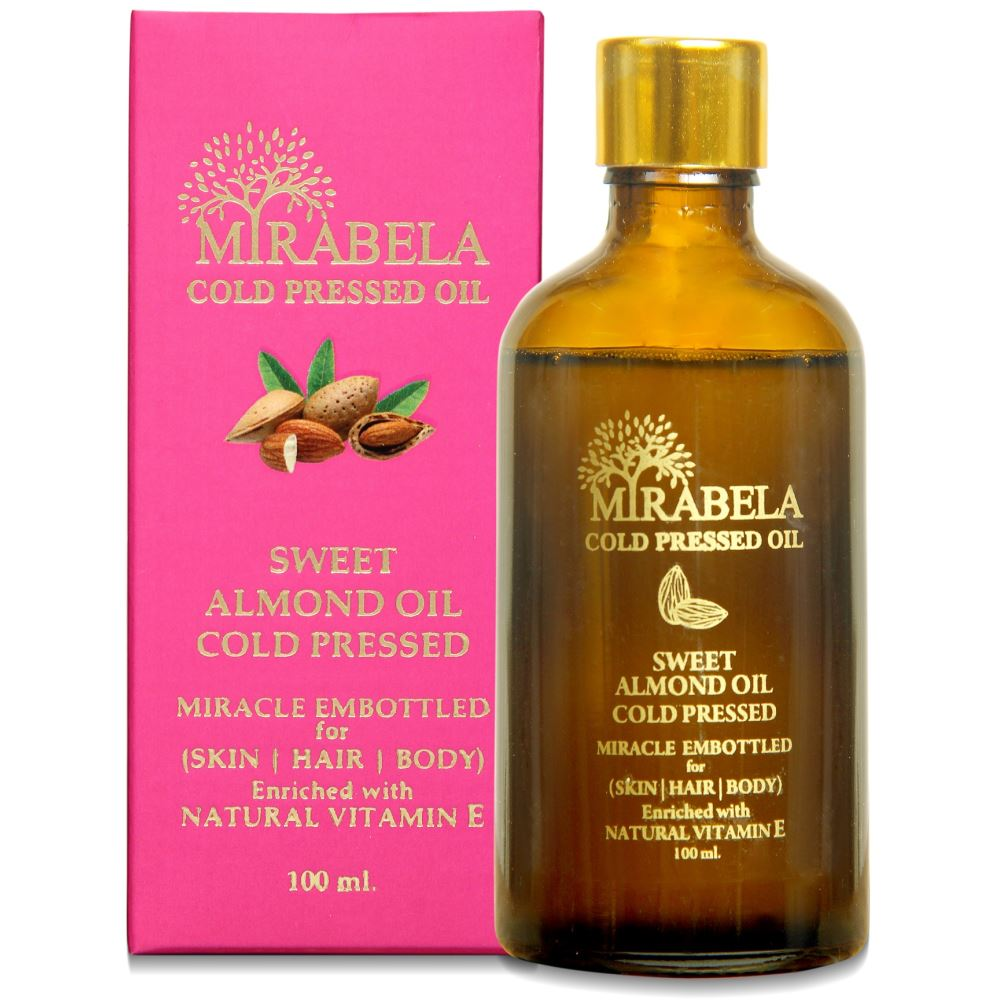 Mirabela Sweet Almond Oil Wood Pressed And Cold Pressed (100ml)