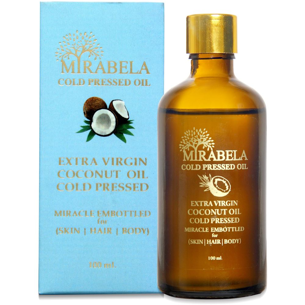 Mirabela Virgin Coconut Oil Wood Pressed And Cold Pressed (100ml)