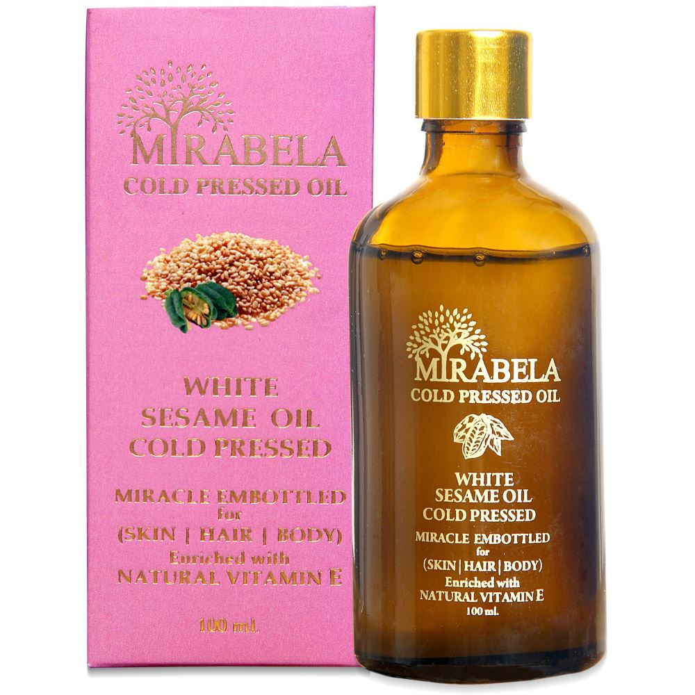 Mirabela White Sesame Oil Wood Pressed And Cold Pressed (100ml)