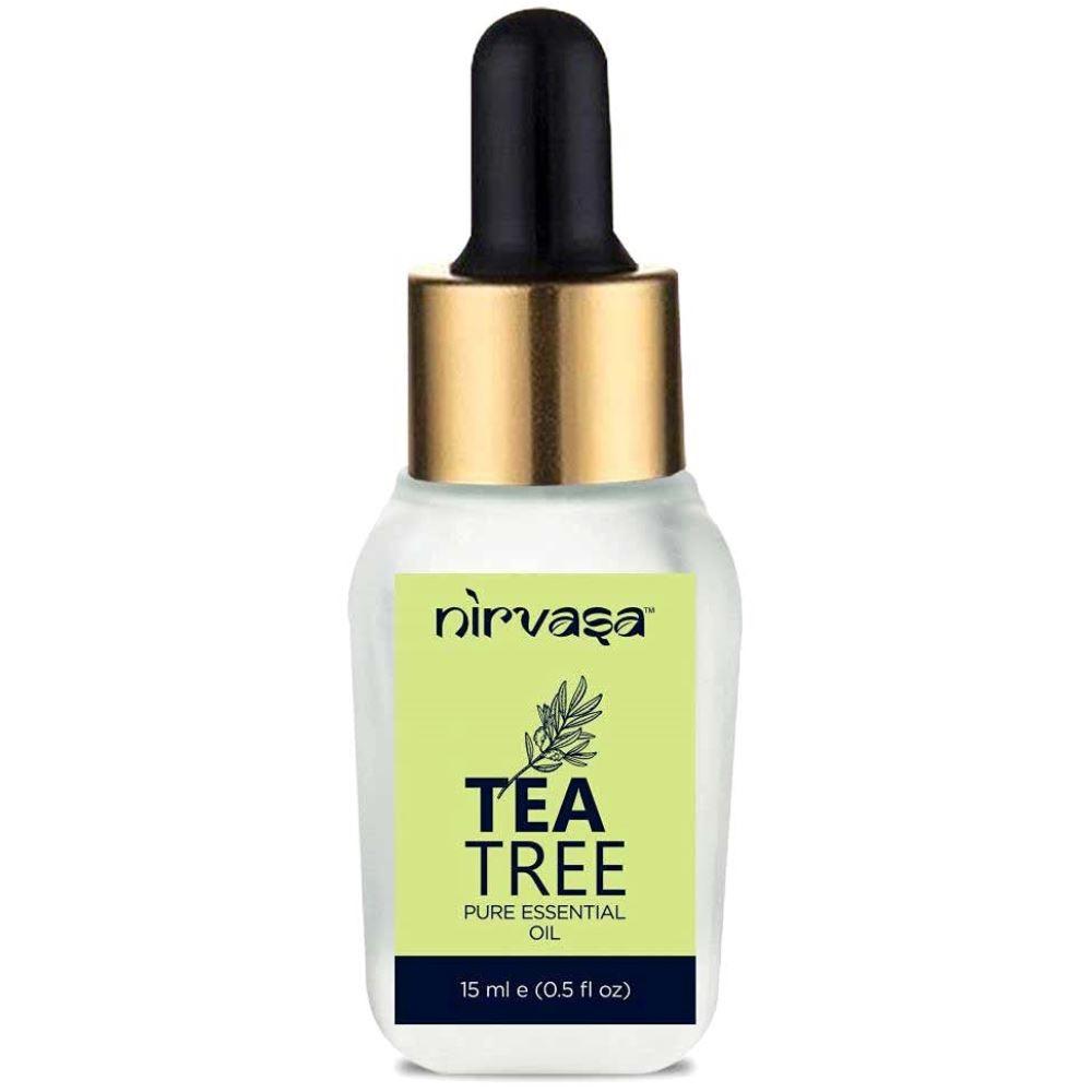 Nirvasa Pure Tea Tree Essential Oil (15ml)