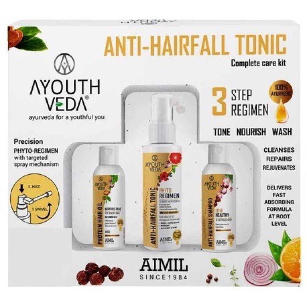 Aimil Anti Hair Fall Tonic Kit Shampoo,Tonic & Oil (1Pack)