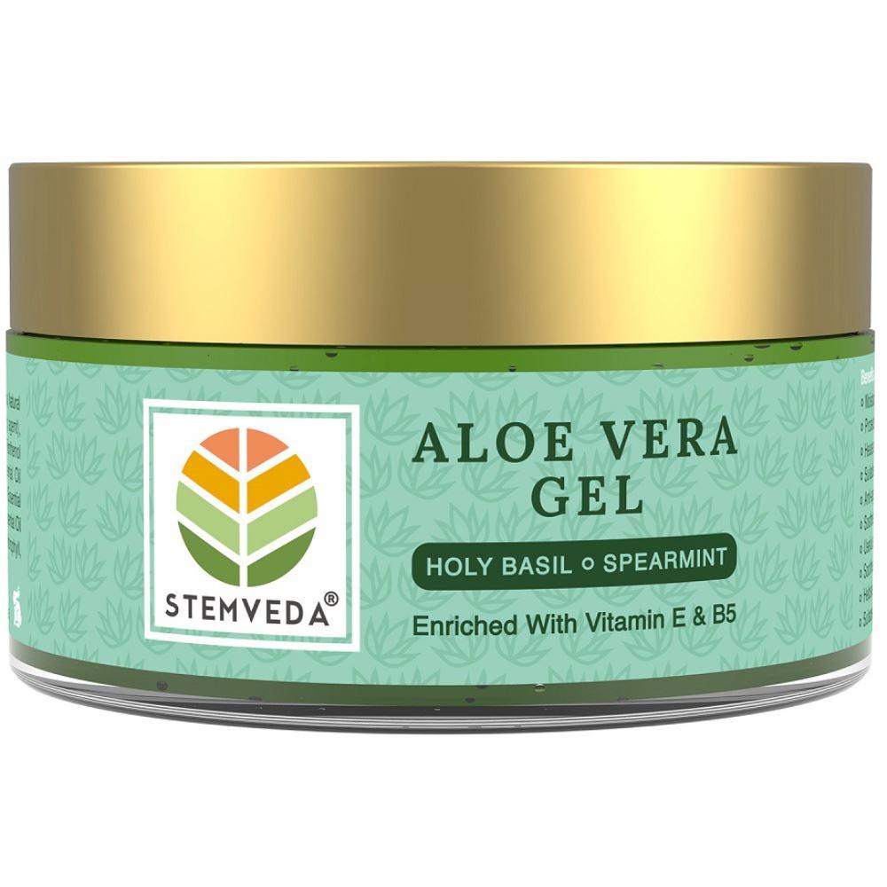 Stemveda Aloe Vera Gel Holy Basil Spearmint (110g)