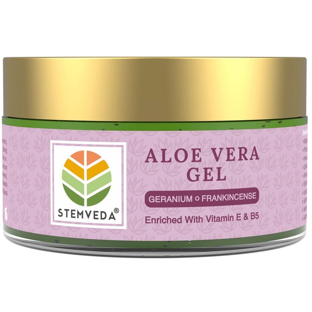 Stemveda Aloe Vera Gel Geranium Frankincense (110g)