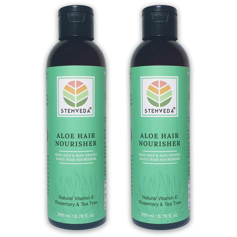 Stemveda Aloe Hair Nourisher (200ml, Pack of 2)