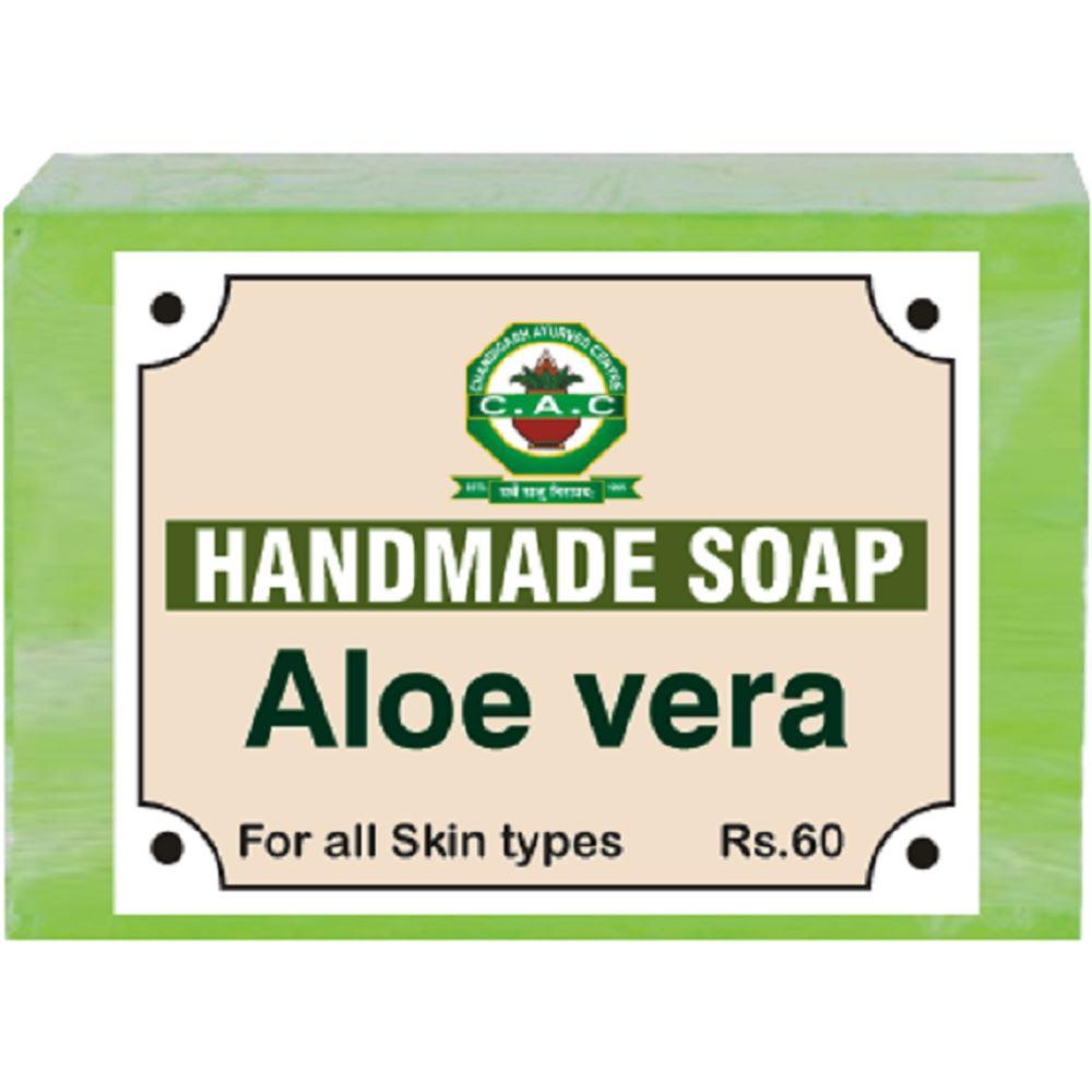 Chandigarh Ayurved Centre Aloe Vera Handmade Soap (100g)