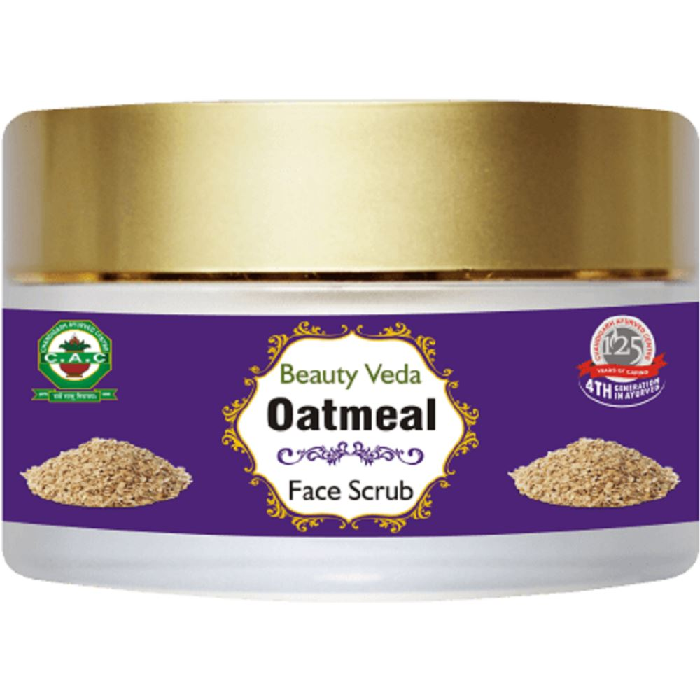 Chandigarh Ayurved Centre Oatmeal Face Scrub (45g)