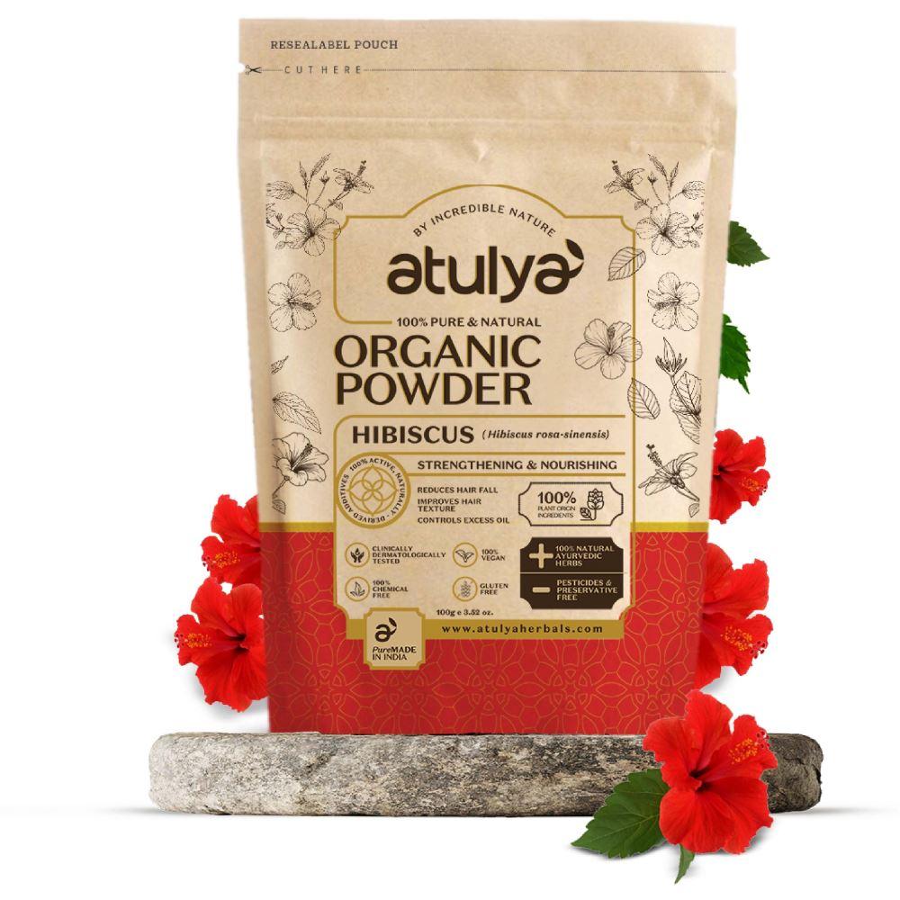 Atulya Hibiscus Organic Powder (100g)