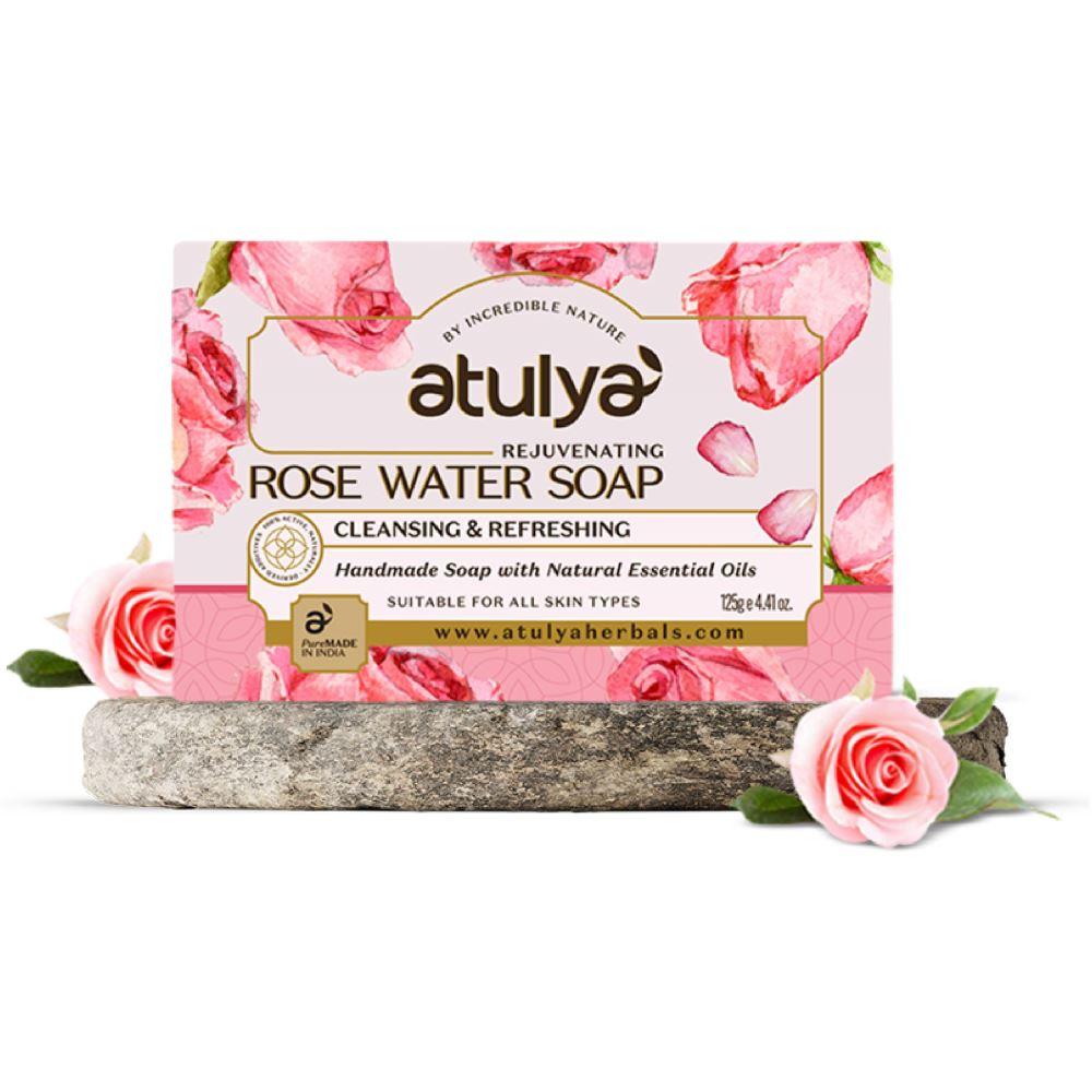 Atulya Rose Water Soap (125g)