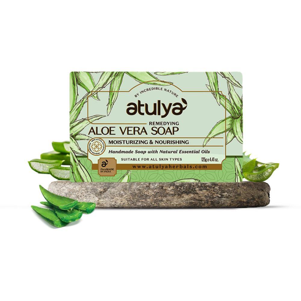 Atulya Aloe Vera Soap (125g)