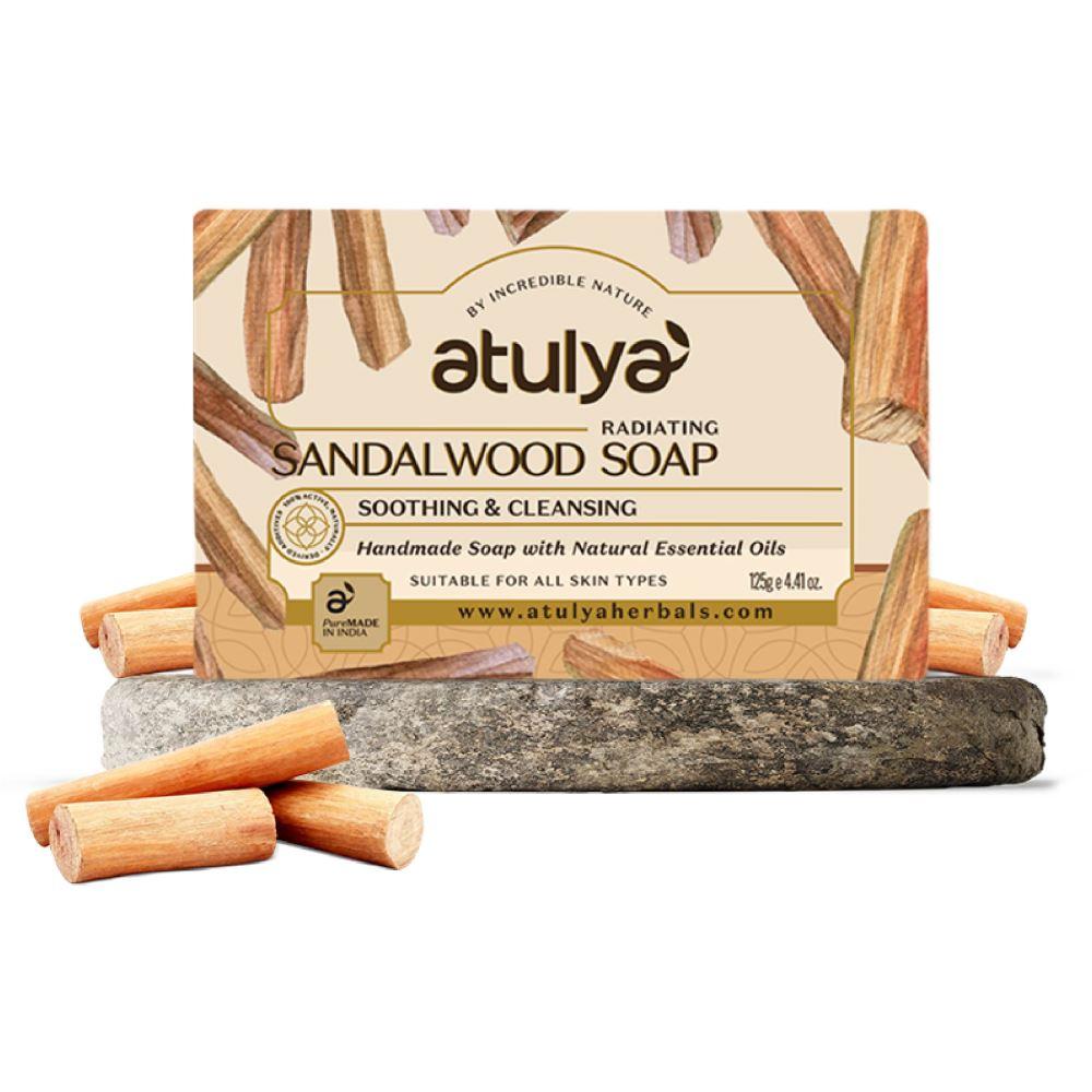Atulya Sandal Wood Soap (125g)
