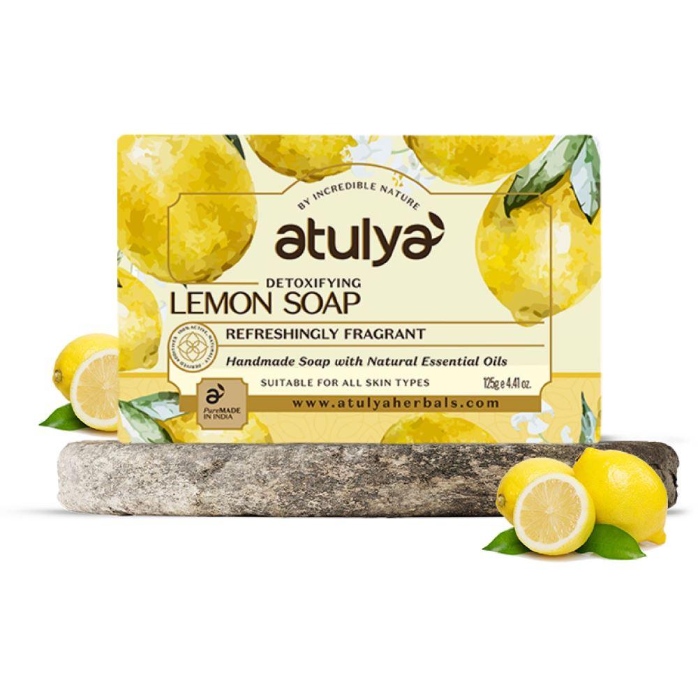Atulya Lemon Soap (125g)