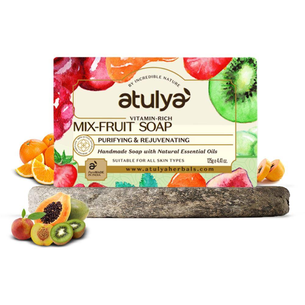 Atulya Mix Fruit Soap (125g)