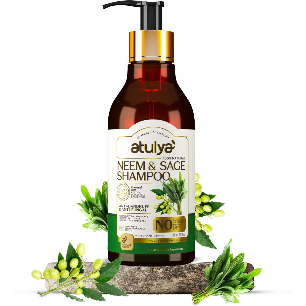 Atulya Neem & Sage Shampoo (300ml)
