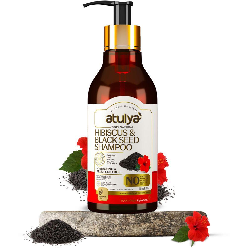 Atulya Hibiscus & Black Seed Shampoo (300ml)