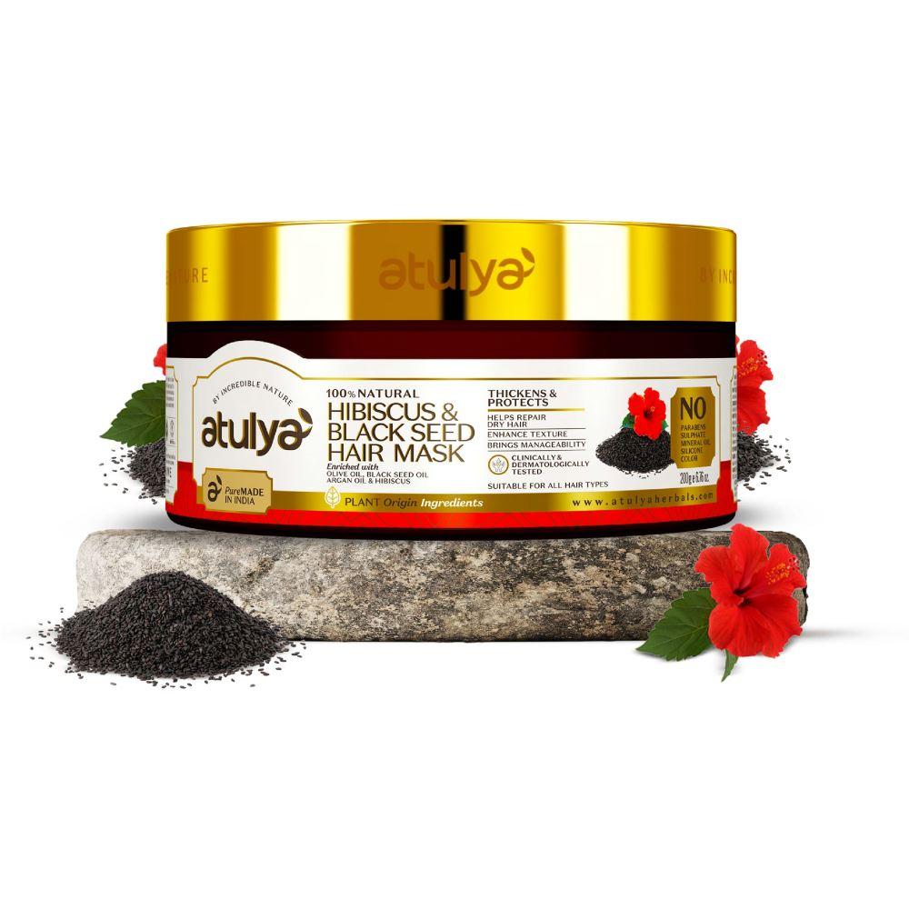 Atulya Hibiscus & Black Seed Hair Mask (200g)