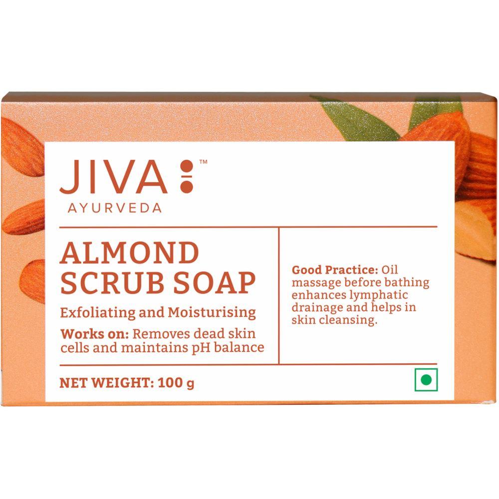 Jiva Ayurveda Almond Scrub Soap (100g)