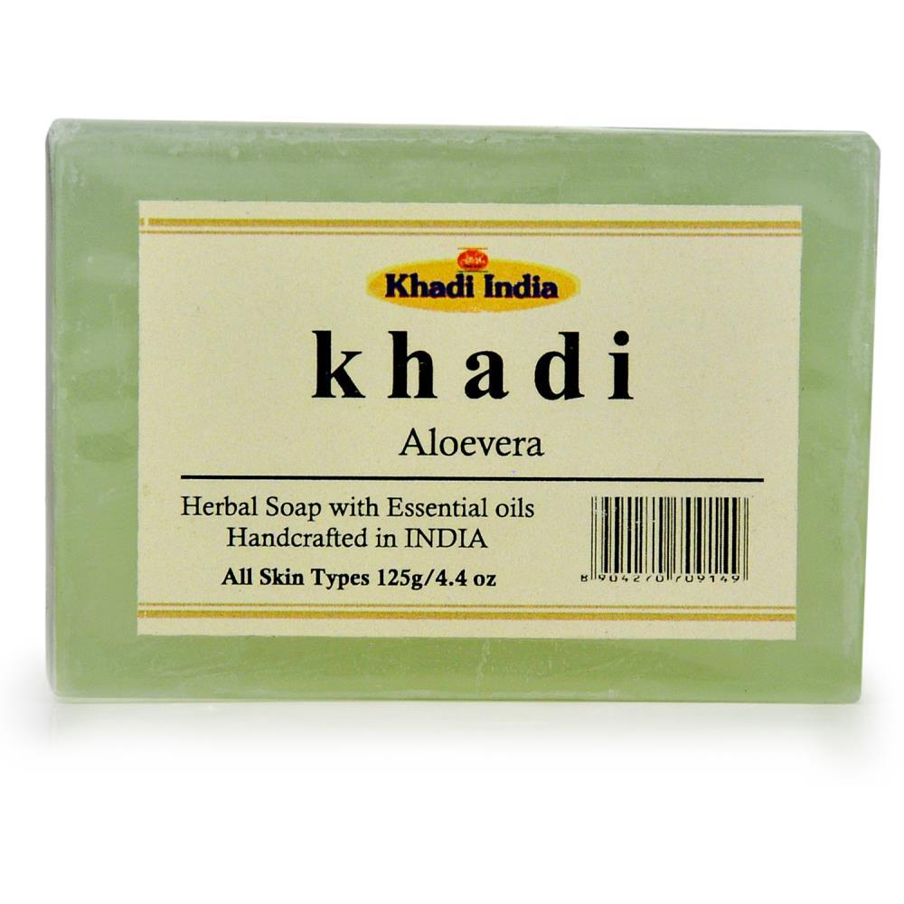 Khadi Aloe Vera Soap (125g)