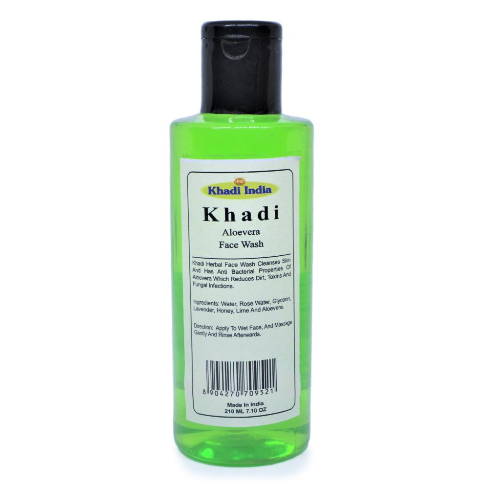 Khadi Aloe Vera Face Wash (210ml)