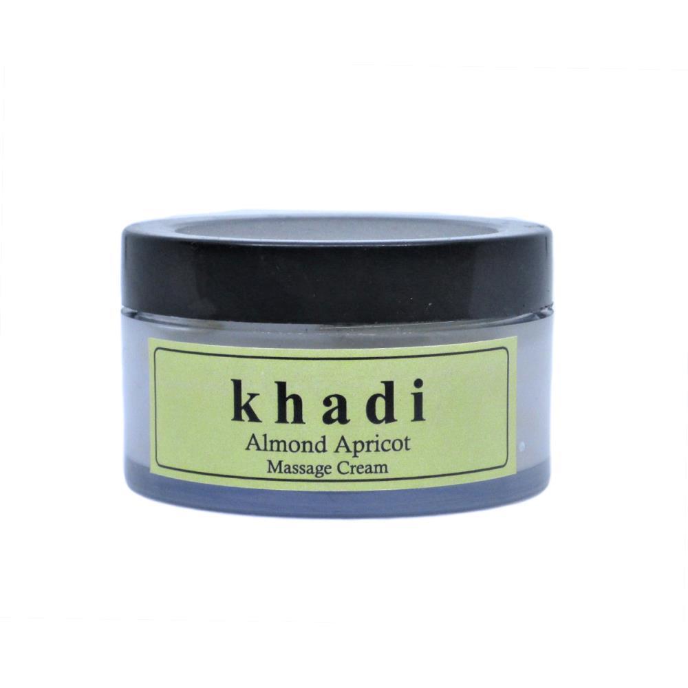 Khadi Almond Apricot Face Massage Cream (50g)