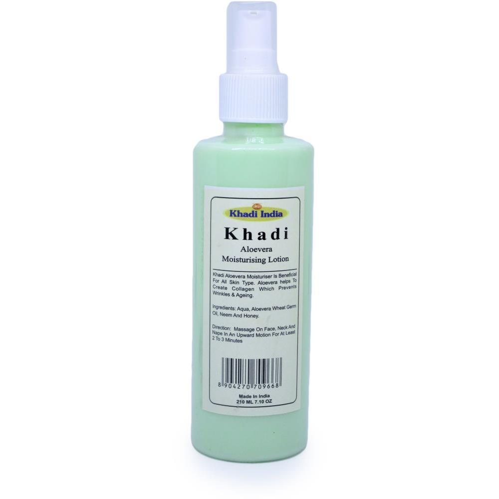 Khadi Aloe Vera Moisturising Lotion (210ml)