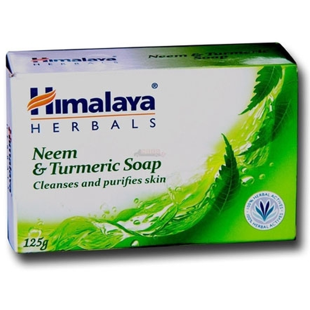 Himalaya Protecting Neem and Turmeric Soap (125g)