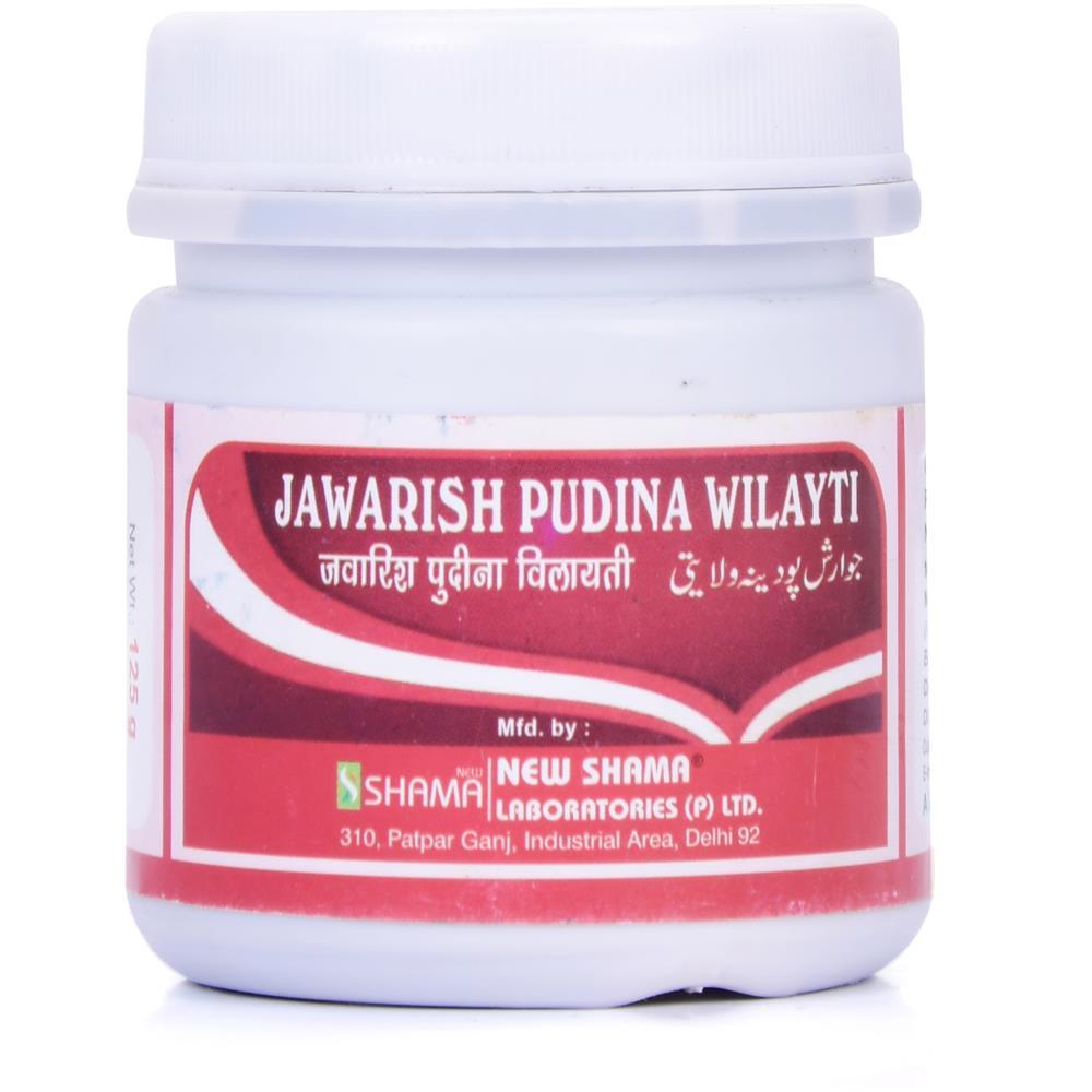 New Shama Jawarish Pudina Wilayti (125g)